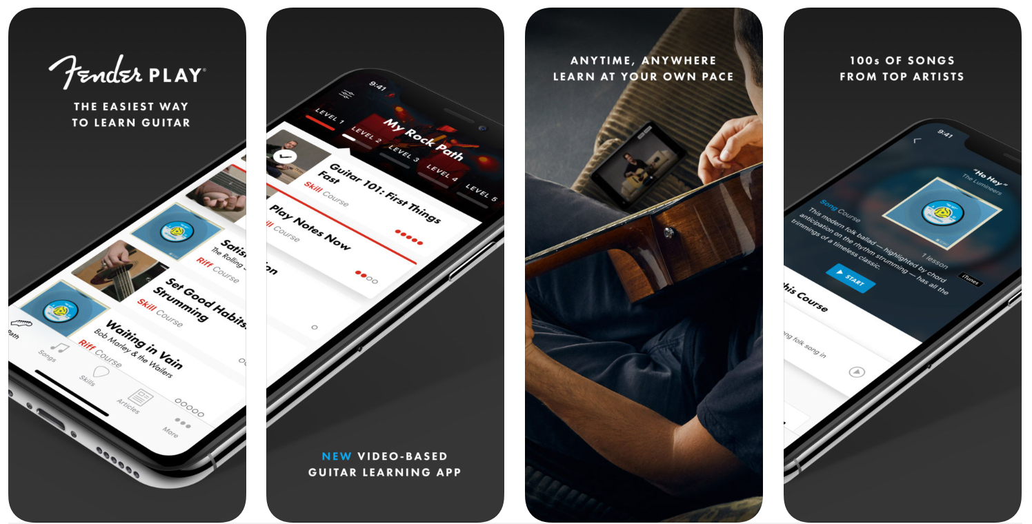 Fender Play Guitar Lessons