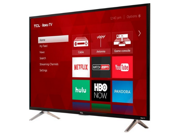 TCL 49-inch 4K UHD TV at Best Buy