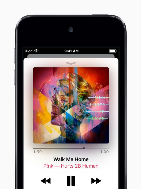 Apple iPod Touch just released