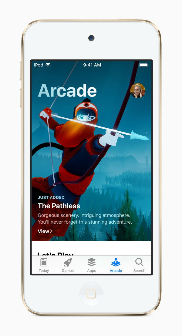 Apple's new iPod Touch with Arcade gaming